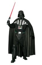 New Rubies Licensed Darth Vader Costume Deluxe Adult Star Wars Vader