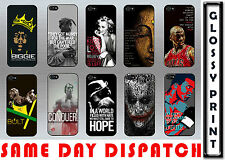FAMOUS QUIRKY WORDINGS LEGEND QUOTES VIBES VINTAGE IPHONE 5/5s/SE CASE COVER