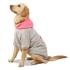 Pet Clothes Warm Dog Hoodie Sweater Costume Large Dog Apparel 4 Colors 6 Sizes