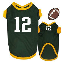 Aaron Rodgers Color & Number Jersey for Dogs - Green Bay Packers Dog Jerseys NWT