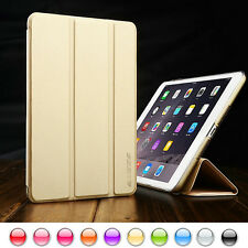 Ultra Slim Smart Cover PU Leather Case Stand For Apple iPad Mini / iPad Air