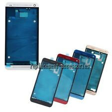 Original Housing Frame Bezel Cover with Adhesive For HTC One M7 801n 810e 801s