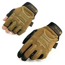 Mens Tactical Work Gloves Unisex Outdoor Sports Gloves Motorcycle Racing Gloves
