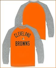 Cleveland Browns Reebok Two-Tone Long Sleeve T-Shirt 2264A Size Small Medium