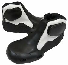 Childrens Kids Minimoto Bike Boots Ankle Childs Motorcycle Boot - T