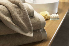 BOUTIQUE CARAMEL SAND 800GSM EGYPTIAN COTTON LUXURY TOWEL SET FACE HAND BATH MAT