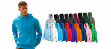 Mens Fruit Of The Loom Hooded Belcoro Sweatshirt, 19 hoodies colours