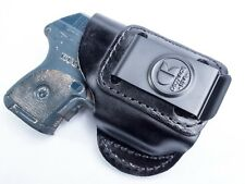 Ruger LCP with Lasermax | Genuine Leather IWB Conceal Carry Inside Holster