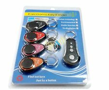 Wireless Key Finder Keyring Locator Beeping Keychain Remote with RF Receiver