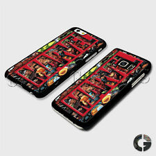 DC Comics Marvel Superheroes Logo Banner Title Xmen Hard Phone Case Cover