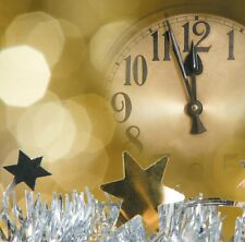 "8 x Happy New Year 2014 Celebrations Blank Greetings Cards ""2 Minutes to Go!"""