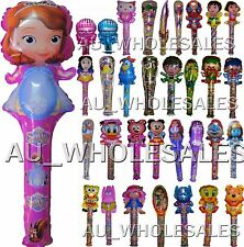 5PCES THEMED AIR FILL LONG BALLOONS (OVER 30 DESIGNS) BIRTHDAY PARTY SUPPIES
