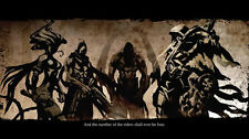 Darksiders Wrath of War Game Fabric poster 21