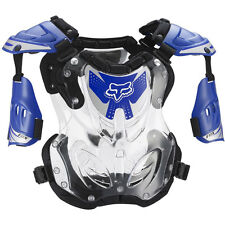 Fox Racing NEW Mx R3 Blue Chest Protector Motocross Body Armour Roost Deflector