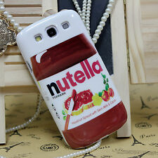 Stylish Nutella 2014 FIFA World Cup Brazil Hard Case For Samsung Galaxy S3 i9300