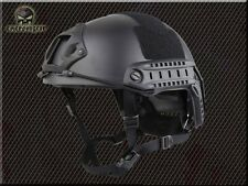 EMERSON MH type Tactical Airsoft Paintball Military Army Helmet Black/BK EM5658B