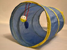Pet Activity Play Tunnel for Cat/Puppies/Kitten/Small Dogs/Gift/Fun - BLUE