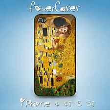 The Kiss by Gustav Klimt Painting Art Case Cover for iPhone & Samsung Galaxy