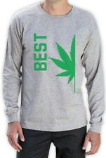 Best Buds Couples BEST Long Sleeve T-Shirt Matching Canabis Dope Weed Drugs top