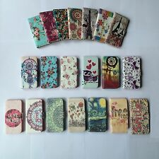Elegant Vintage Floral Style Wallet PU Leather Flip Case Cover Pouch For Phones