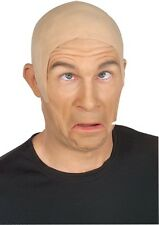 Latex Bald Cap Skin Head Rubber Wig Fancy Dress Up Halloween Costume Accessory
