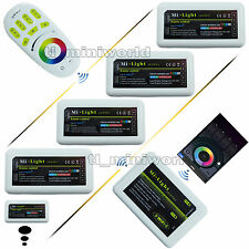 WiFi 2.4G RF Touch Remote wireless Phone MiLight RGBW RGB led Controller Dimmer