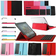 "Universal Bluetooth Keyboard Cover Case For 7"" 9.7"" 10"" 10.1"" Inch Tablets PC"