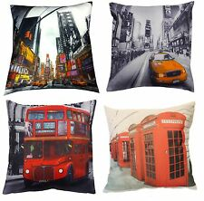 """Retro Photograph Cushion Cover Decorative Vintage Bed Sofa Scatter 17"""" x 17"""""""