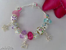 charm bracelet 21st birthday young womans coming of age gift in gift pouch