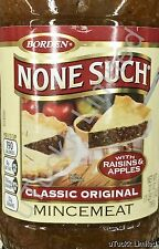 27oz Borden None Such Classic Original Mincemeat with Raisins & Apples