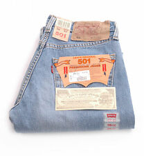 BNWT LEVI'S 501 LIGHT BLUE JEANS WAIST 27 28 29 30