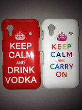 GLOSSY PLASTIC BACK CASE COVER FOR SAMSUNG GALAXY ACE S5830 - KEEP CALM DESIGNS