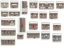 BG Nexus Switches and Sockets Black Nickel, Polished Chrome and Brushed Steel !!