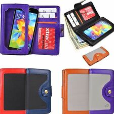 New Kroo Chic Lady's Universal Protective Leather Wallet SmartPhone Case Cover