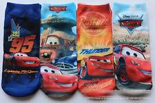 1Pair Kids Boys Toddlers Children Disney Thomas Mcqueen Cars Short Socks 2-8yrs
