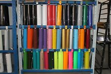 "IRON ON Heat Transfer Vinyl For Cutter Plotter 20""x 1,2,3,4,5, Yards 33 Color"