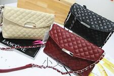 New freeshippings MANGO MNG Quilted Shoulder Chain Bag Leather Crossbody