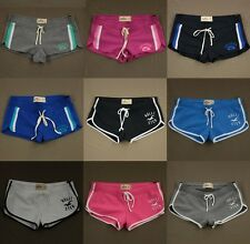 Hollister Womens Athletic Sweat Short Shorts Gym Lounge by Abercrombie NWT!