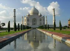 Taj Mahal Scenery india Personalized Poster Wall Art Home Decor gift Made in USA