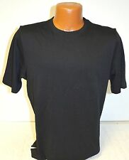 NEW Mens Kirkland Short Sleeve 100% Pima Cotton Crew Neck Tee T-Shirt Black NWT!