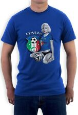 Marilyn Monroe ITALIA SOCCER T-Shirt National Team WORLD CUP 2014 Italy Top Tee