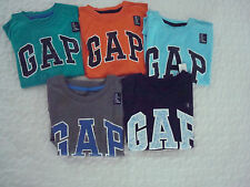 NWT- GAP Boys LOGO T shirt - a MUST HAVE - Sizes XS (4-5) - L (1011)