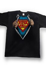 Airbrushed Super Bell Ringer T-Shirt Church Bell Ringer Hero Size S to XXXL