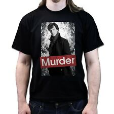 Sherlock Murder Obey The Rules of Deduction Cumberbatch T-shirt P197