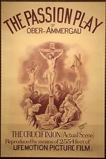 101 Vintage Theatre & Show Art Poster  The Passion Play *FREE POSTERS