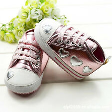 Cute 6-15M Toddlers Baby Girls Pattern Print Sneakers Flat Soft Anti-slip Shoes
