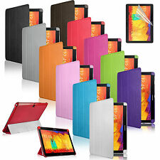 Slim Smart Leather Case Cover For Samsung Galaxy Note 10.1 2014 Edition P600 601