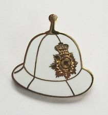 ROYAL MARINES PITH HELMET LAPEL PIN AND WALKING STICK MOUNT
