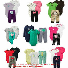 New Arrival Carter's Bebe Boys and Girls Clothing Sets Baby Bodysuits Outfits