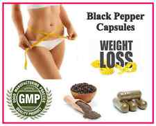 Piper Nigrum Capsules Weight Loss Lower Blood Pressure Heart Health Diet Pills
